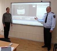 Обучающее занятие в Воронежском институте МВД
